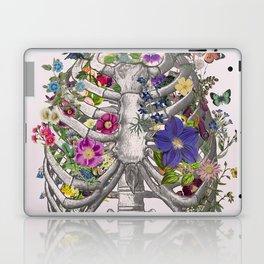 Ribs and flowers Laptop & iPad Skin