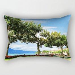 Time to Rest Rectangular Pillow