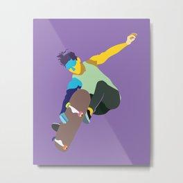 Skateboard No.11 Metal Print