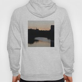 Sunset over Leith Edinburgh Hoody