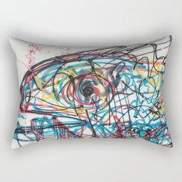 Eye 2 colour Rectangular Pillow