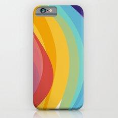 Fig. 045 Colorful Swirls iPhone 6s Slim Case