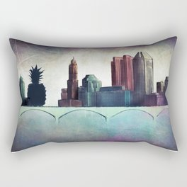 THE OTHER SIDE OF THE TOWN Rectangular Pillow