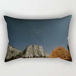 El Captain among the stars Rectangular Pillow