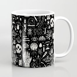 Curiosities: Bone Black Coffee Mug