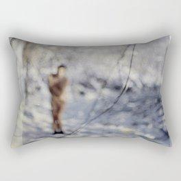 The Time Traveler Rectangular Pillow