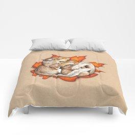 Autumn Squirrels Comforters