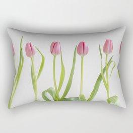 Rose tulips Rectangular Pillow