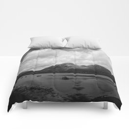 Colorless Paradise Comforters