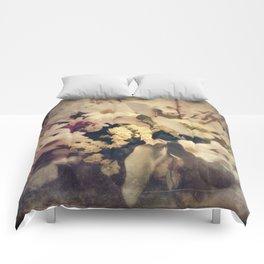 Flowers of Nostalgia Comforters