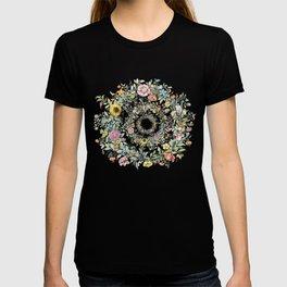 Circle of life- floral T-shirt