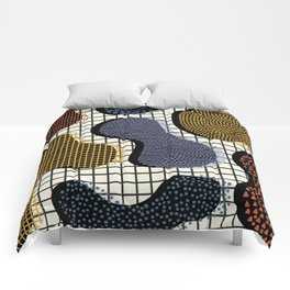 Colorful Notebook III Comforters