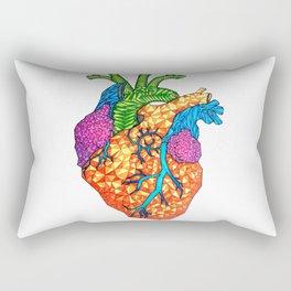 Bursting Art-eries Rectangular Pillow