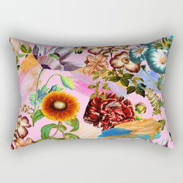 SUMMER BOTANICAL IX Rectangular Pillow