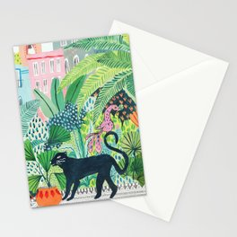 Jungle Panther Stationery Cards
