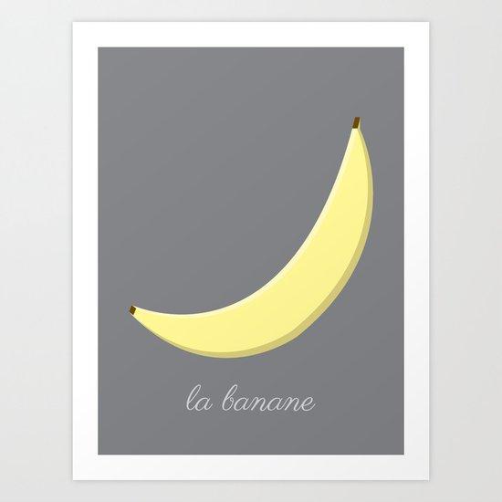 La Banane Art Print