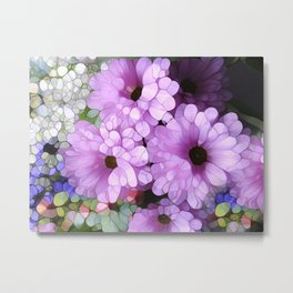 Daisies from the Galaxy Metal Print