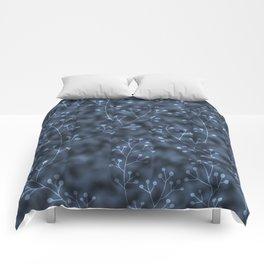 blue berries Comforters