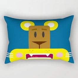 Cute Cartoon Lioness Rectangular Pillow