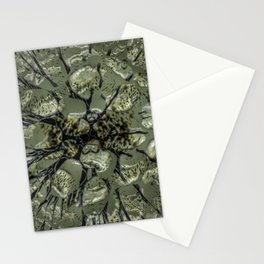 Waifs - Cracking through W of Alphabet collection Stationery Cards