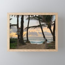 hawaii Framed Mini Art Print