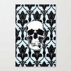 Skull Print Canvas Print