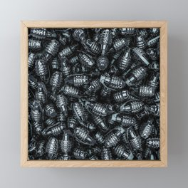 Grenades Framed Mini Art Print
