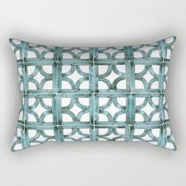Breeze Block Ocean Rectangular Pillow