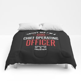 COO - Chief Operating Officer Comforters