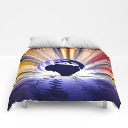Luminous flux. Comforters