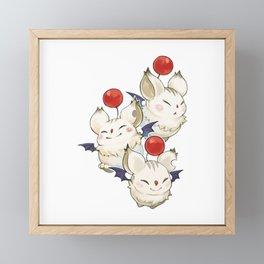 Moogle Moogle final fantasy Framed Mini Art Print