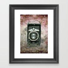 Lady Photographer Framed Art Print