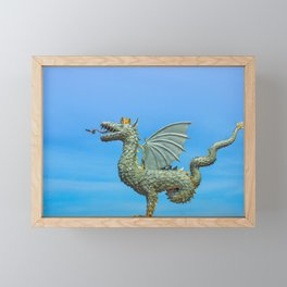 Dragon Zilant Framed Mini Art Print