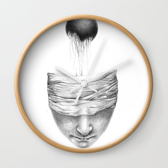 get your head out of the covers... Wall Clock