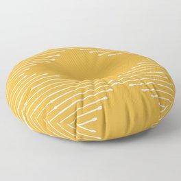 Geo (Yellow) Floor Pillow