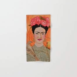 frida a coyoacan Hand & Bath Towel