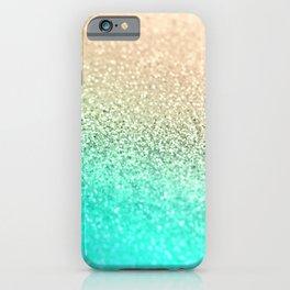GOLD AQUA iPhone Case