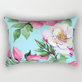 Clic Floral Elegance Luxurious Design Rectangular Pillow