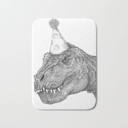 Party Dinosaur Bath Mat