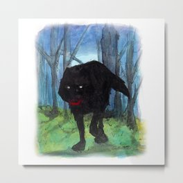 The Big Bad Wolf Metal Print