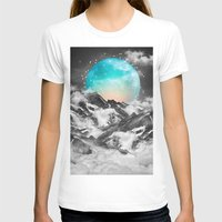 mountain T-shirts featuring It Seemed To Chase the Darkness Away by soaring anchor designs