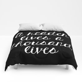 A Reader Lives a Thousand Lives - Inverted Comforters