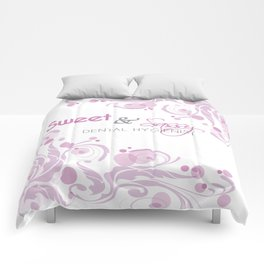 Sweet and Sassy Dental Hygienist Comforters