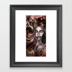 The Secret Blossoming Framed Art Print
