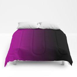 pink black mood Comforters