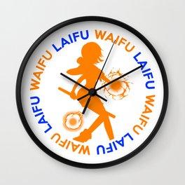 Waifu Laifu Nami Anime Shirt Wall Clock