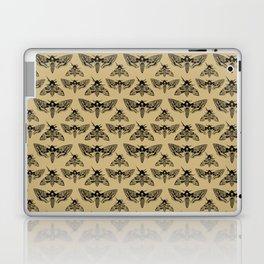 Antique Deaths Head Hawk Moth Pointillism Laptop & iPad Skin