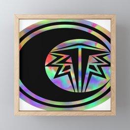 cataclismic design Framed Mini Art Print