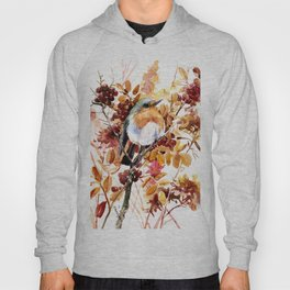 Robin Bird and Colors of Fall Hoody