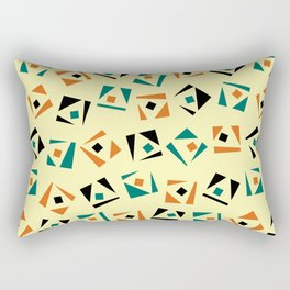Random geometric pattern Rectangular Pillow